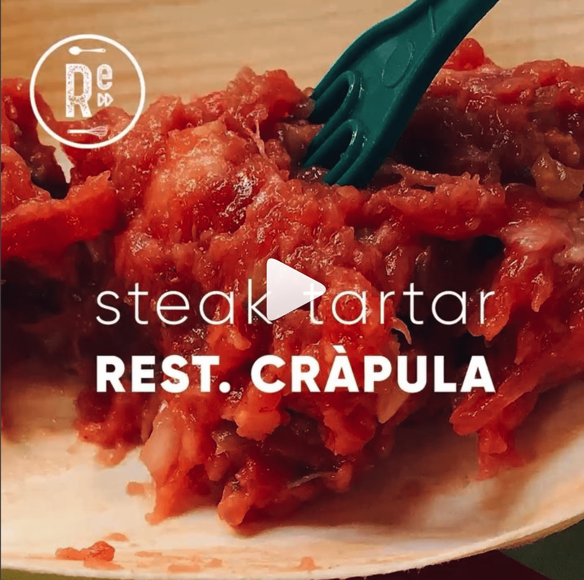 Steak Tártar - Rest. Cràpula